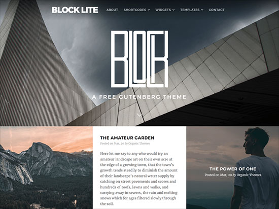 The-Block-Lite-theme-features-responsive-design-with-a-block-style-layout-2019