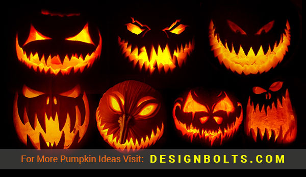 600+ Scary \u0026 Cool Halloween Pumpkin Carving Ideas, Designs