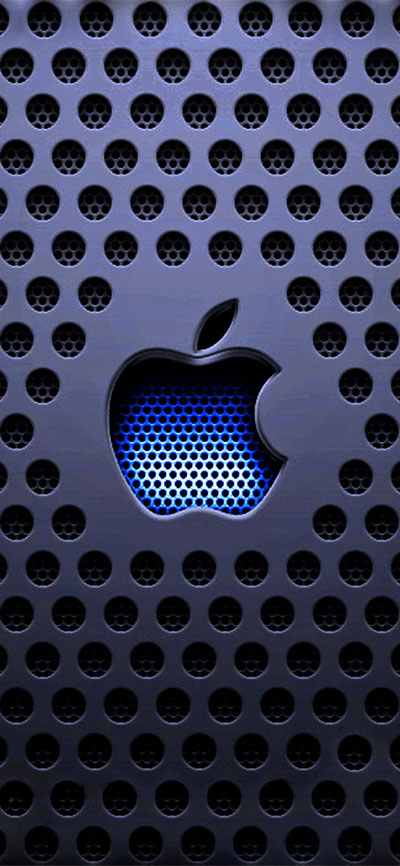 Apple-Logo-iPhone-XR-Wallpaper