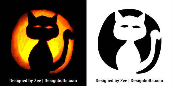 Very easy halloween pumpkin carving stencils ideas