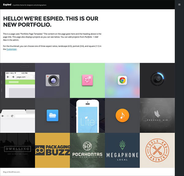 Espied-portfolio-wordpress-theme-for-designers,-photographers,-and-artists