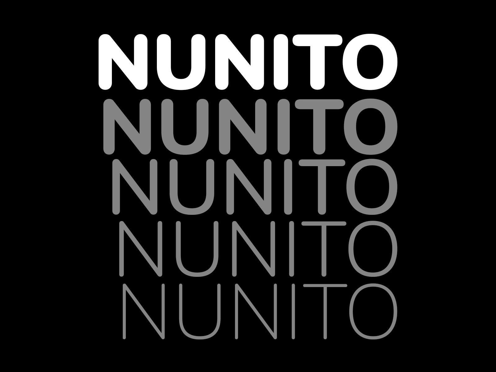 Free-Nunito-Rounded-Font-Family