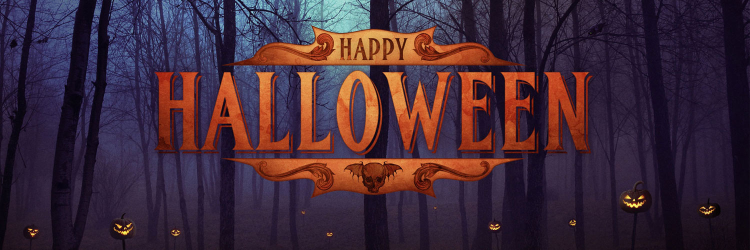 Happy-Halloween-Google Plus Header Banner Cover Photo Image 2018