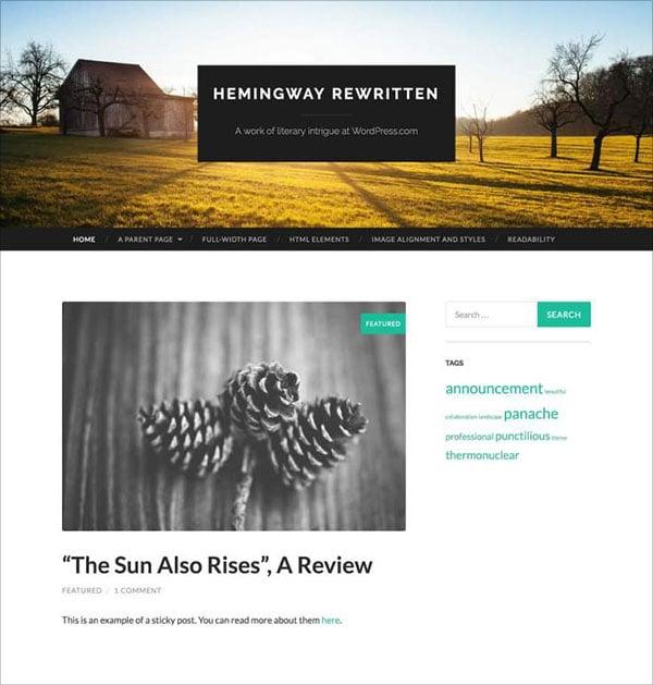 Hemingway-Rewritten-blog-theme-with-parallax-scrolling