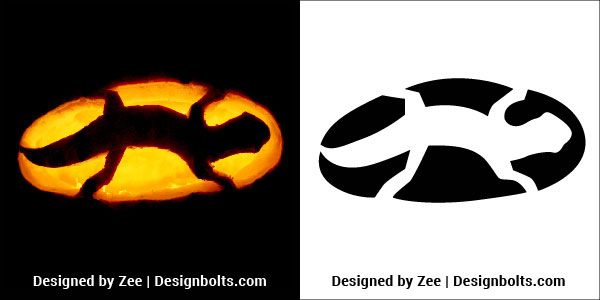 10 Very Easy Halloween Pumpkin Carving Stencils, Ideas