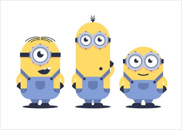 Minions-in-Adobe-Illustrator