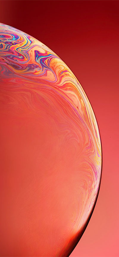 Orange-iPhone-XR-Wallpaper-HD-2X