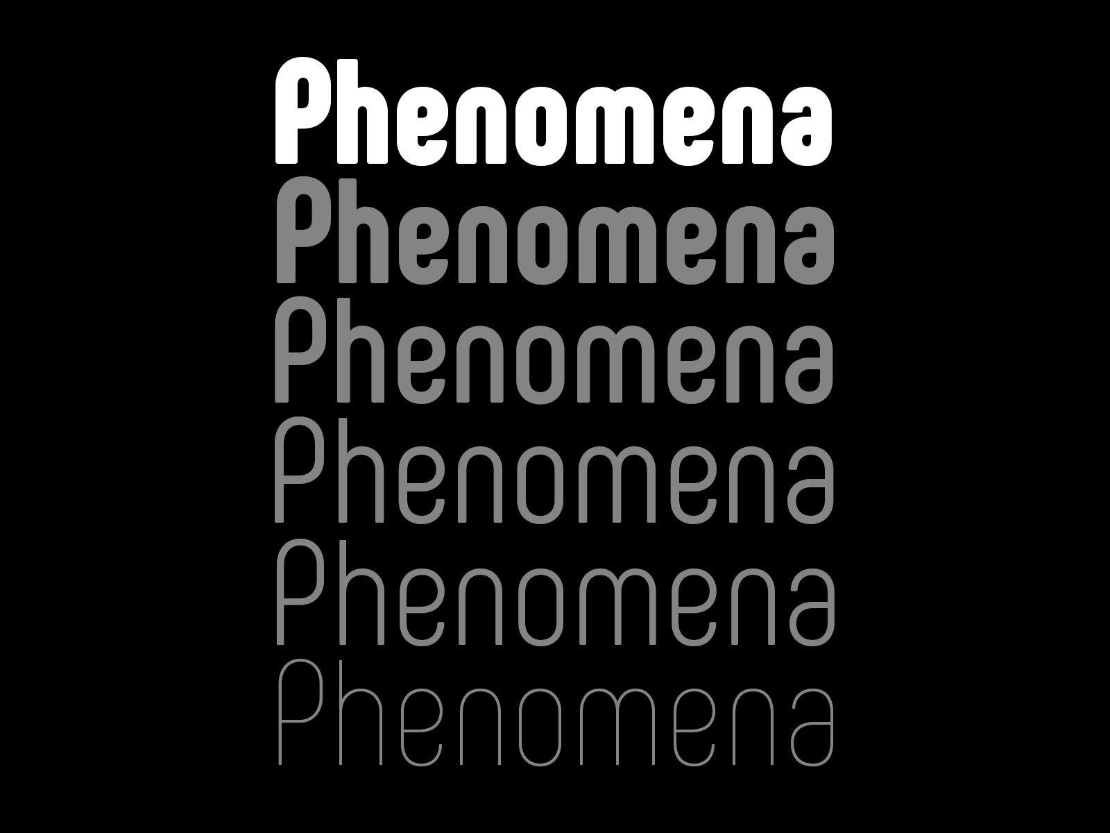 Phenomena-Free-Bold-Rounded-Sans-Serif-font