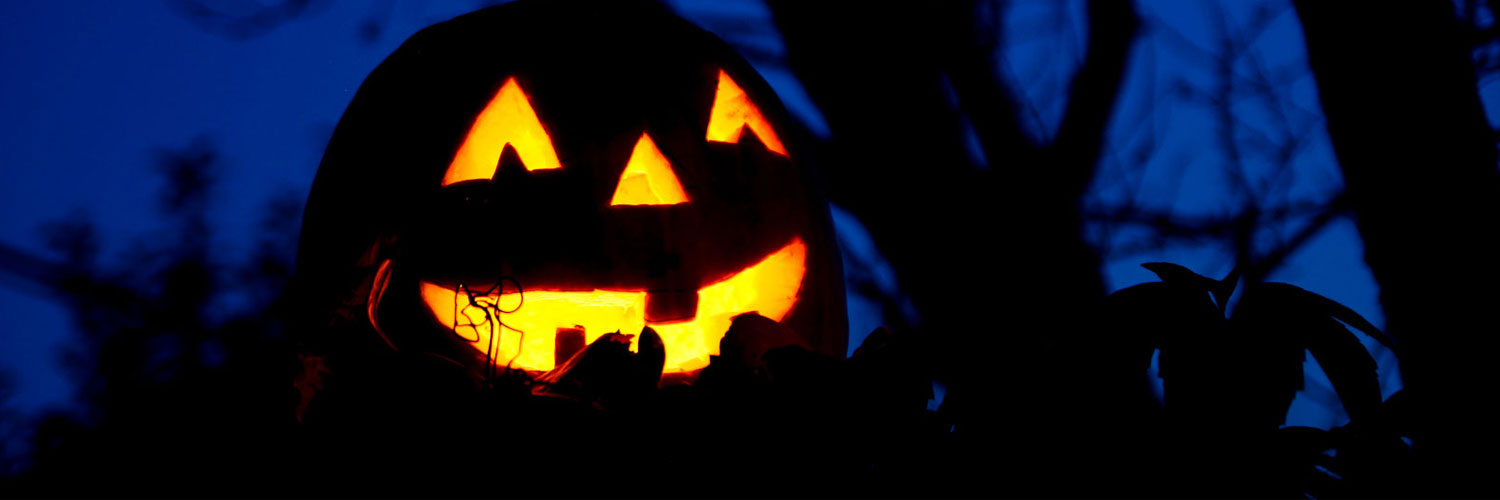 Pumpkin-Carving-at-Night-Twitter Google Plus Header Banner Cover Photo Image 2018