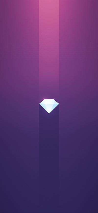 Purple-Diamond-iPhone-Xs-Wallpaper