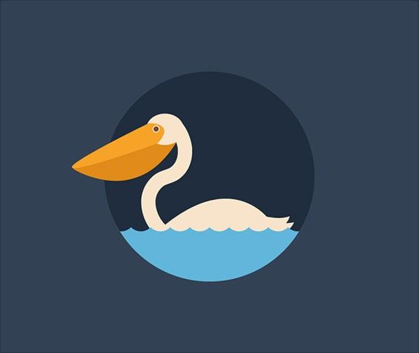 Quick-Pelican-in-Adobe-Illustrator