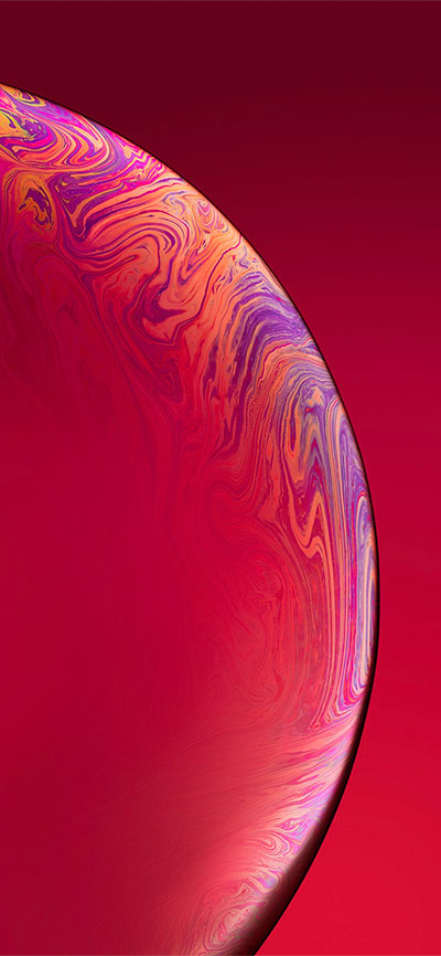 Red-iPhone-XR-Wallpaper-HD-2X