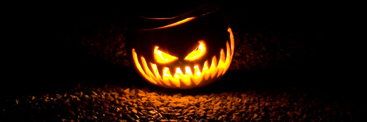 Scary-Halloween-Pumpkin-Twitter Google Plus Header Banner Cover Photo Image 2018