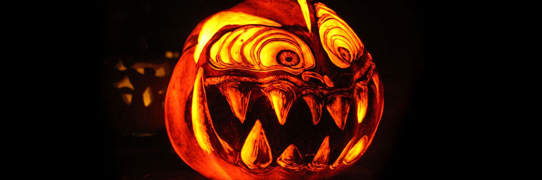 Scary-Hallowen-Pumpkin-Twitter Google Plus Header Banner Cover Photo Image 2018
