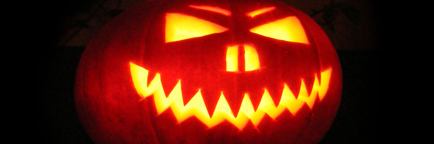 Scary-Jack-O-Lantern-Twitter Google Plus Header Banner Cover Photo Image 2018