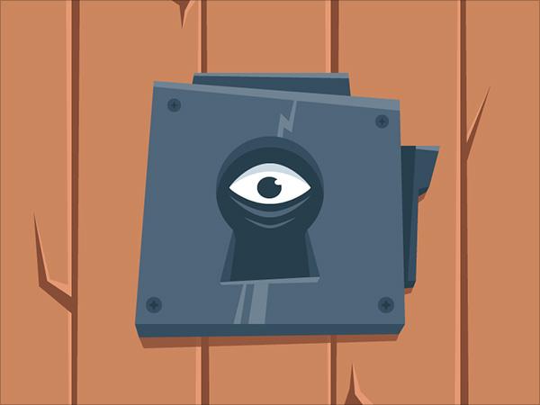 Scary-Look-Through-The-Keyhole-Adobe-Illustrator-Illustration-Tutorial