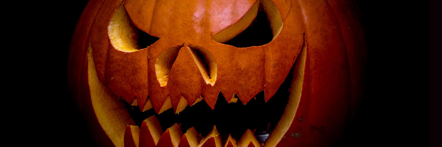 Scary-Pumpkin-Carving-Twitter Google Plus Header Banner Cover Photo Image 2018