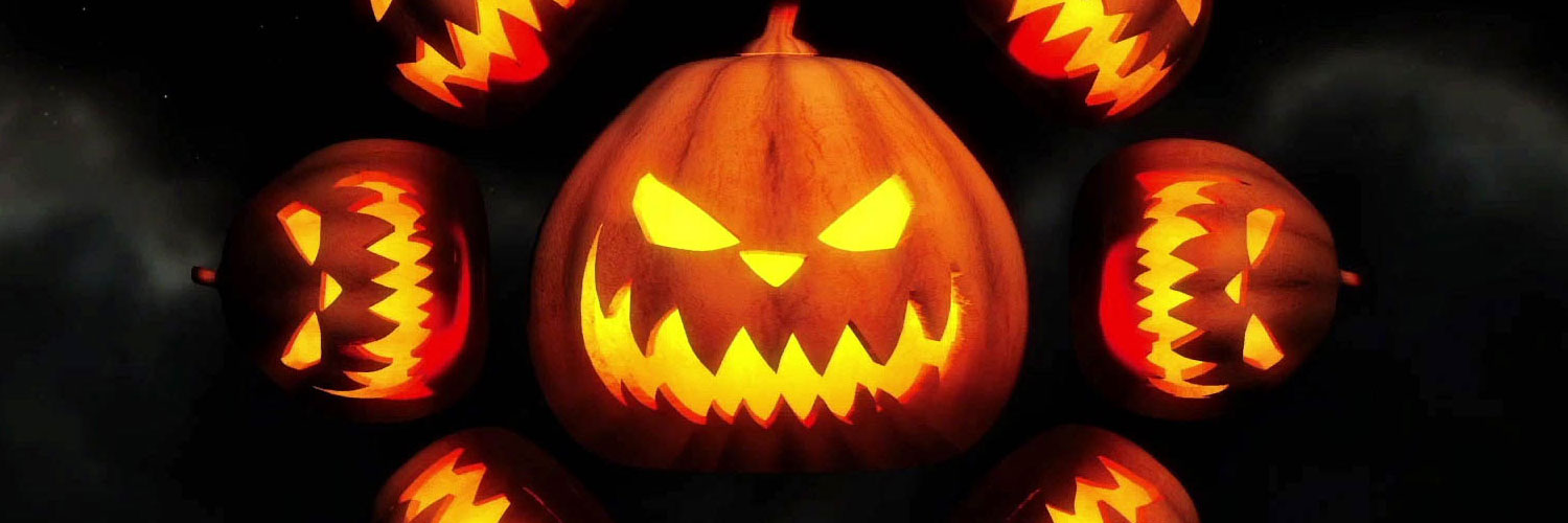 Scary-Pumpkins-Twitter Google Plus Header Banner Cover Photo Image 2018