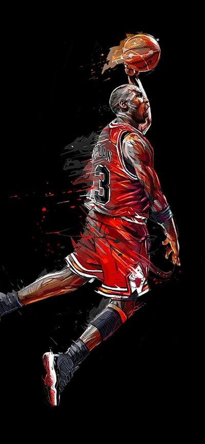 michael_jordan_basketball-iPhone-Xs-Wallpaper