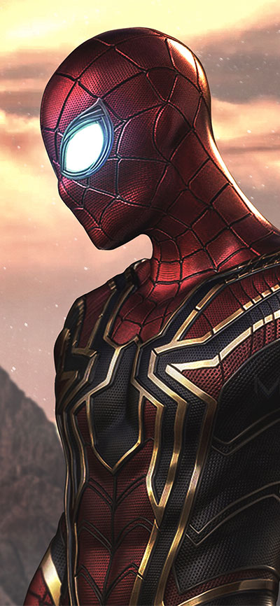 spider_man_as_iron_spider_-iPhone-XR-Wallpaper
