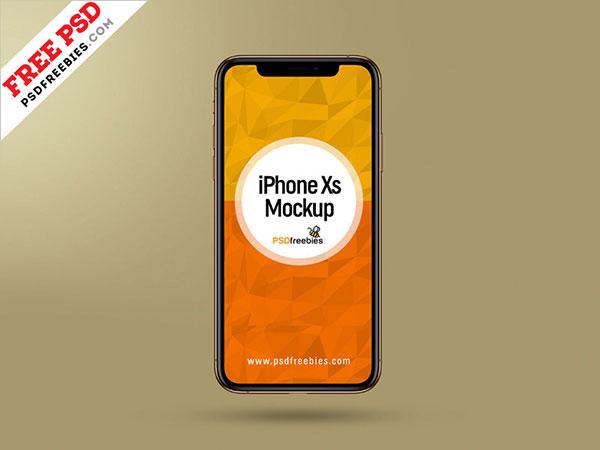 Apple-iPhone-Xs-Mockup-PSD