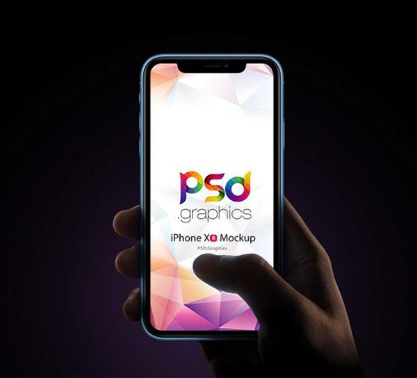 Apple-iPhone-xr-mockup-PSD