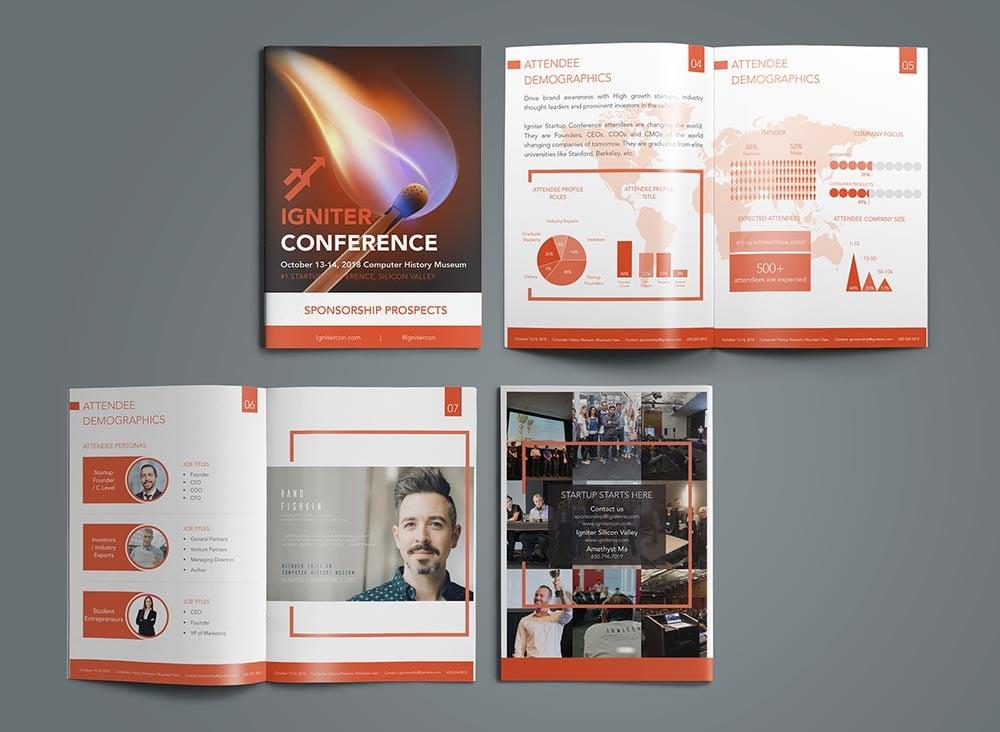 20 modern brochure design ideas  u0026 template examples for