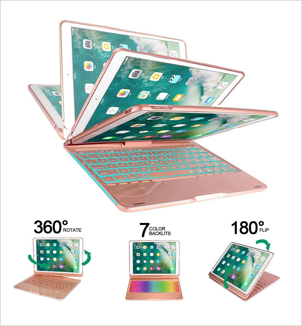 Earto-iPad-Pro-10.5-Keyboard-Case-360-Rotatable-Wireless-Backlit-Keyboard