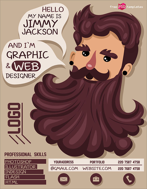Free-Creative-Resume-CV-Template-for-Illustrator-Graphic-Artist