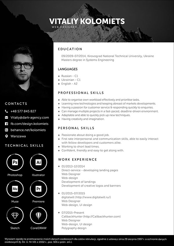 Free-PSD-Resume-Template-for-Web-Developer-2