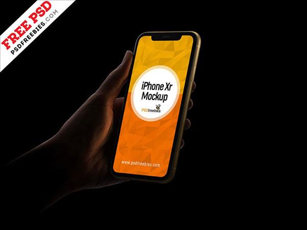 Free-iPhone-Xr-Mockup-PSD