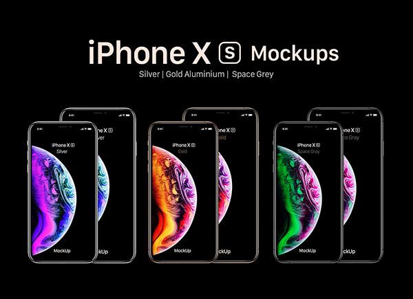 Free-iPhone-Xs-Xs-Max-Mockup-PSD-Set