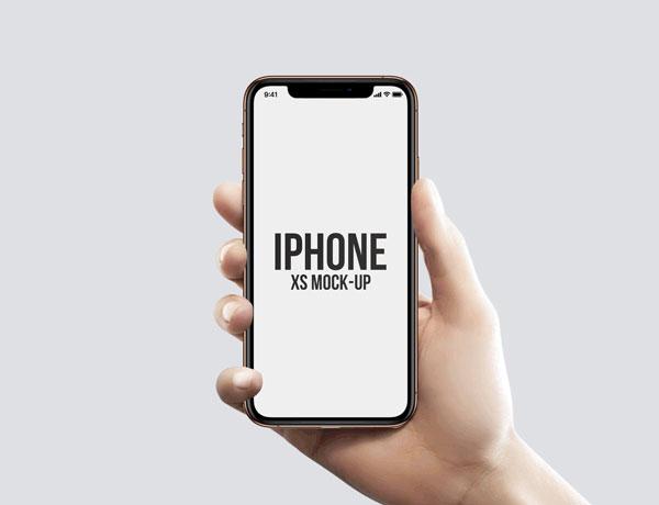 Freebie-iPhone-XS-in-Hand-Mockups-2