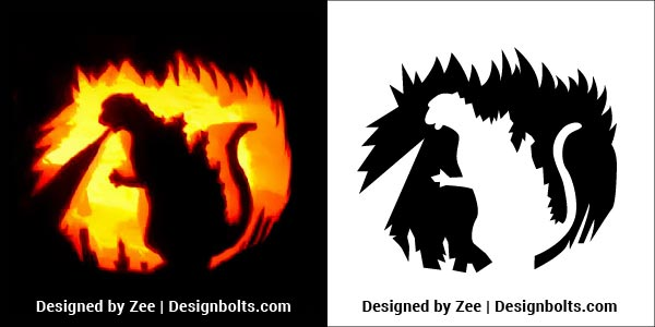 5 Trendy Pumpkin Carving Stencils    Printable Patterns