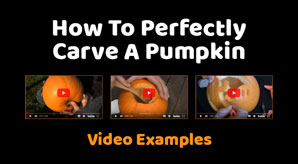 How To Perfectly Carve A Pumpkin For Halloween | 3 DIY Simple Video Examples for Kids & Adults