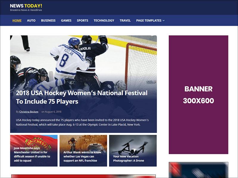 NewsToday-free-magazine-style-WordPress-theme-for-news-websites