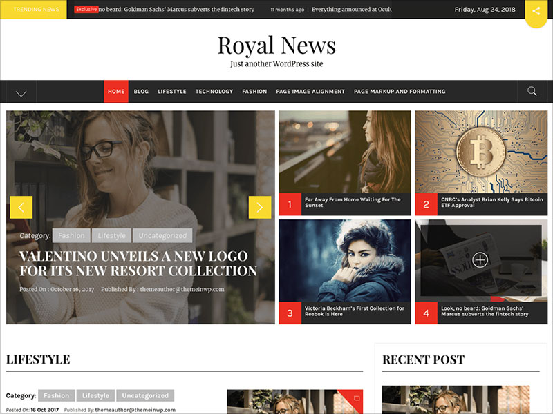 Royal-News-great-for-magazine-&-blog-websites