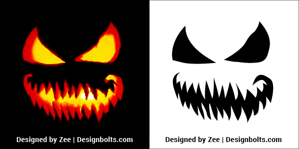 Scary-Pumpkin-Carving-Stencils-Patterns-Ideas-2018
