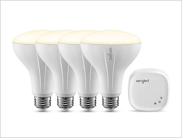 Sengled-Element-Classic-Smart-LED-Light-Bulbs--+-hub-Starter-Kit