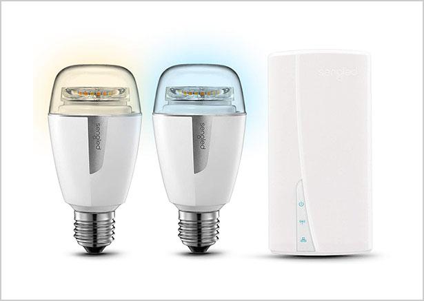 Sengled-Smart-LED-Light-Bulb-Starter-Kit-(2-A19-bulbs-+-hub)