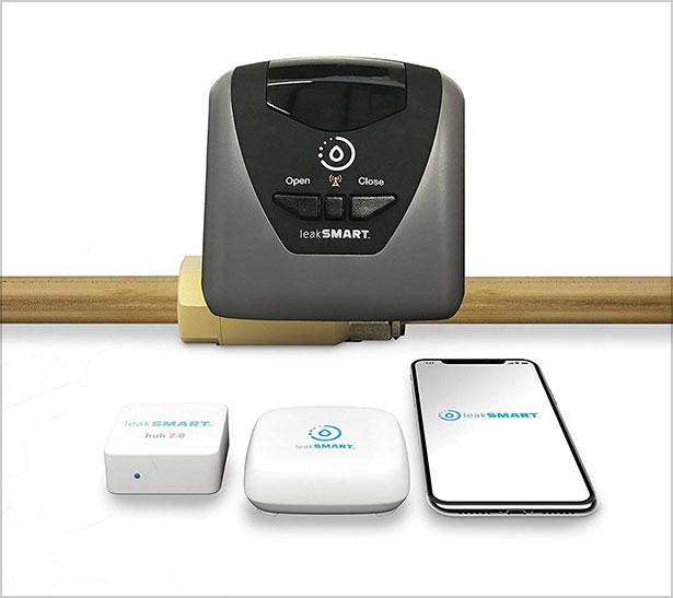 Water-Leak-Detection-Starter-Kit-by-leakSMART-and-Smart-Hub