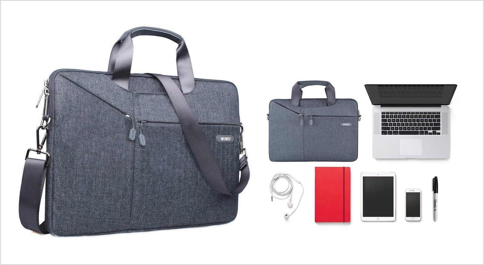 13 13.3 Inch-Laptop-Bag-Waterproof-Shoulder-Bag-Macbook-Air-12-9-Inch-iPad-Pro