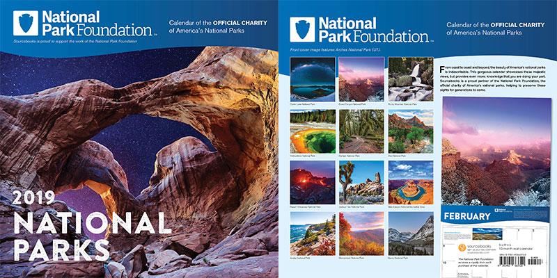 2019-National-Park-Foundation-Wall-Calendar