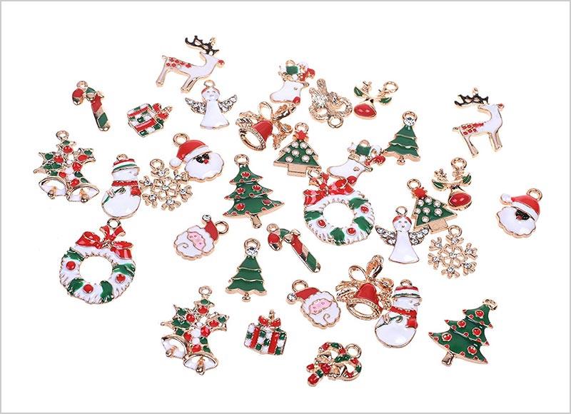 34pcs-Mixed-Style-Christmas-Tree-Decorations-Set-2018