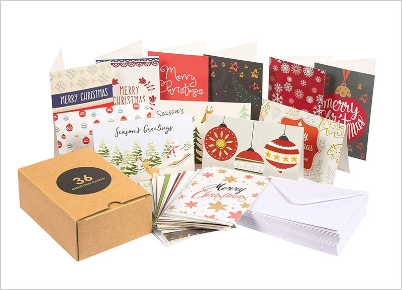 36-Pack-Merry-Christmas-Holiday-Greeting-Cards-Bulk-Box-Set