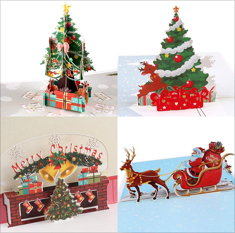 3D-Pop-Up-Christmas-Cards-4-Pack-Blank-Greeting-Holiday-Cards-2018