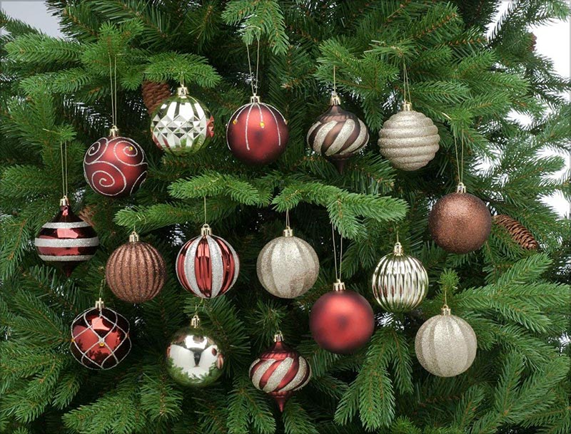 52-Piece-Assorted-Bauble-Christmas-Ornament-Set