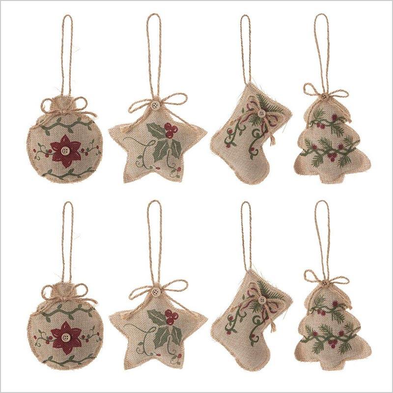 8-Pcs-Christmas-Tree-Ornaments-Stocking-Decorations