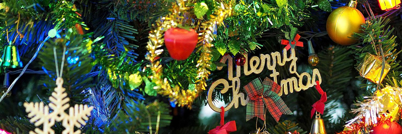 Christmas-tree-decorations-stock-image