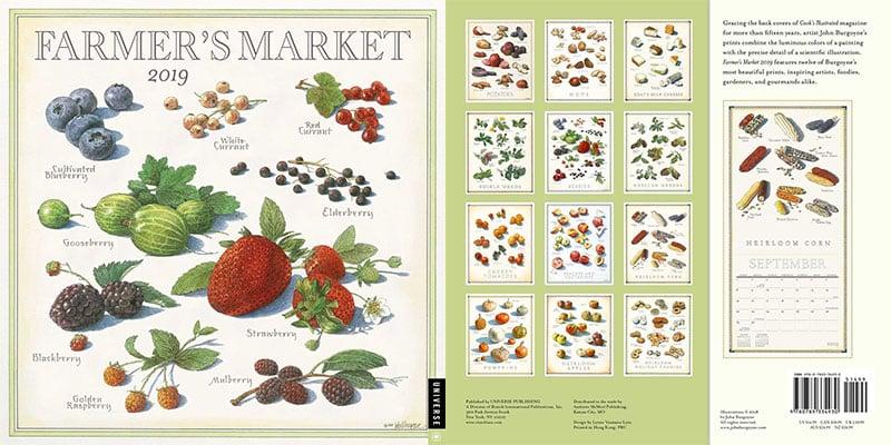 Farmer's-Market-2019-Wall-Calendar